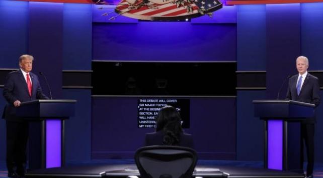 ABDde başkan adayları canlı yayında karşı karşıya geldi
