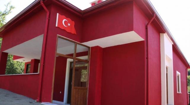 Orduda şehit Altuntaşın evi yeniden yapıldı