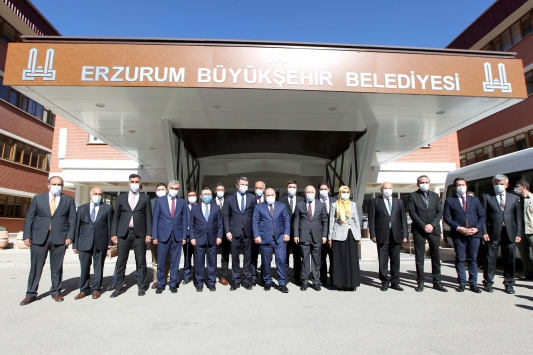 Sanayi ve Teknoloji Bakanı Mustafa Varank, Erzurumda