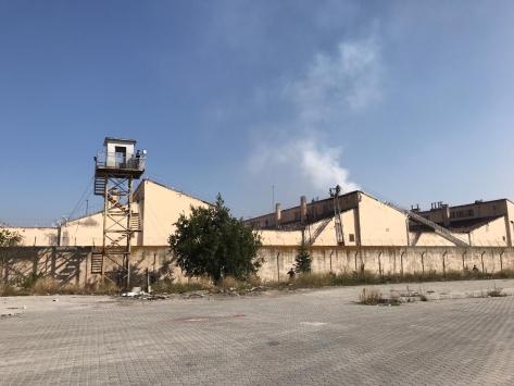 Kütahyada cezaevinin yatakhane bölümünde yangın