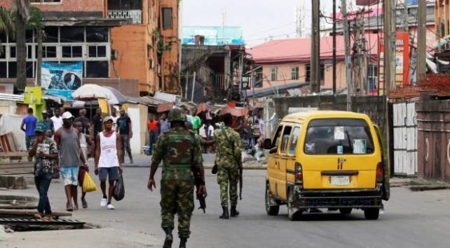 Nijeryada ordu sokağa indi