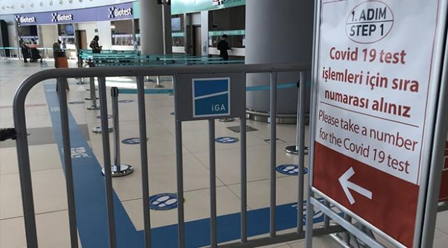 İstanbul Havalimanında 141 bin 811 yolcu COVID-19 testi yaptırdı