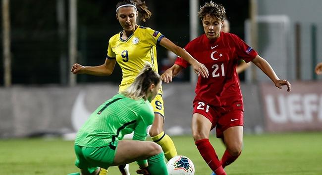 Kadın A Milli Takımı Kosova ile yenişemedi