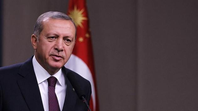 Cumhurbaşkanı Erdoğandan Almanyadaki cami baskınına tepki
