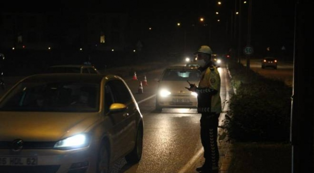 Bursada huzur uygulaması: 17 araca ceza kesildi