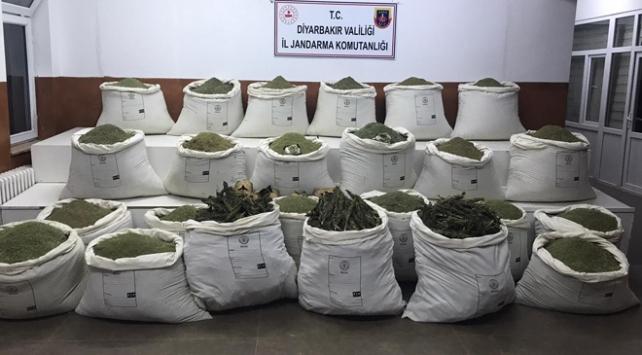 Diyarbakırda narko terör operasyonu