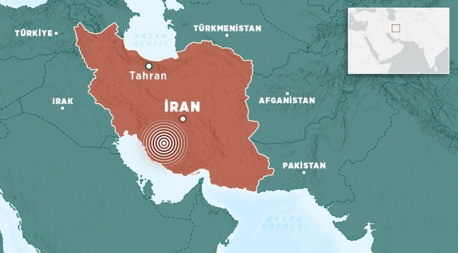 İranda 5,4 büyüklüğünde deprem