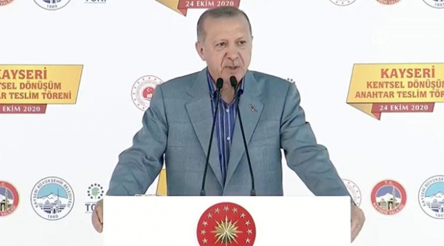 Cumhurbaşkanı Erdoğan: Ülkemizi afetlere dayanıksız yapılardan kurtaracağız