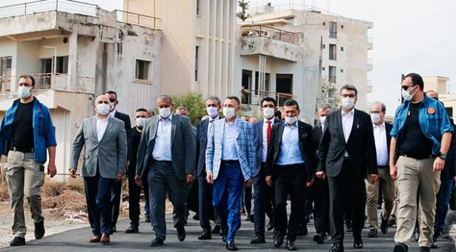 Cumhurbaşkanı Yardımcısı Oktay Kapalı Maraşı ziyaret etti