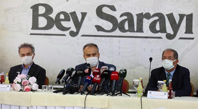 Osmanlı idare merkezi Bey Sarayı gün yüzüne çıkıyor
