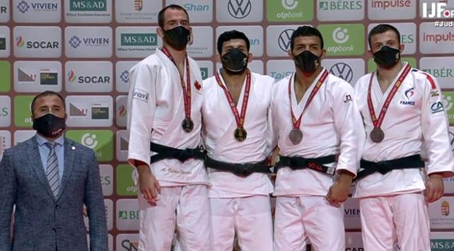 Milli judocu Vedat Albayraktan altın madalya