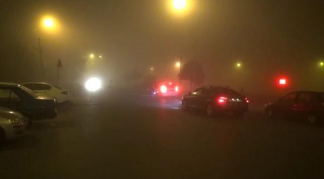İstanbulda yoğun sis etkili oldu