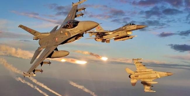 Irakın kuzeyine hava harekatı: 3 terörist etkisiz hale getirildi