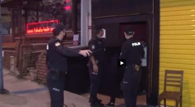 İstanbulda eğlence mekanına koronavirüs baskını: 49 kişiye ceza