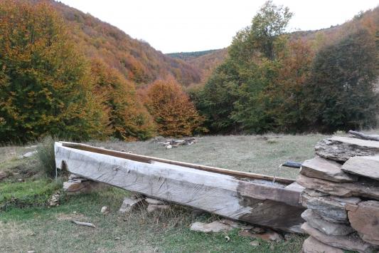 Kütahyadaki Boyalı Dağı sonbaharda ayrı bir güzelliğe büründü