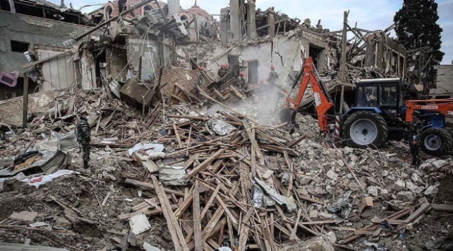 Azerbaycanda, Ermenistanın saldırıları sonucu 65 sivil yaşamını yitirdi