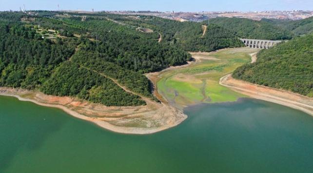 İstanbuldaki barajlarda su seviyesi düşmeye devam ediyor