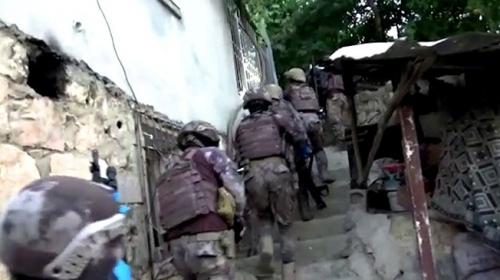 Siirt'te DEAŞ operasyonu: Biri sözde üst düzey 6 gözaltı
