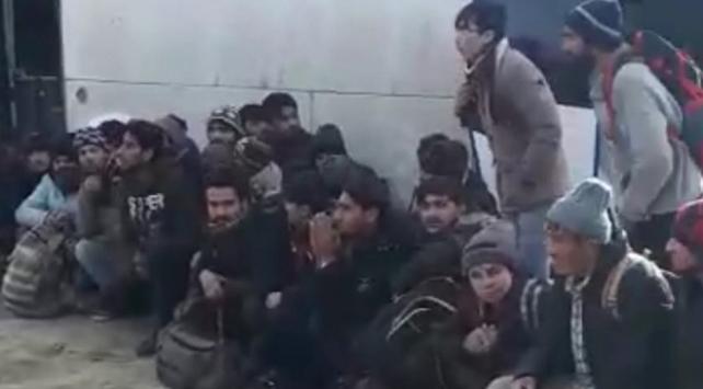 Niğdede 54 düzensiz göçmen yakalandı