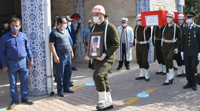 Hataylı Kore gazisi son yolculuğuna uğurlandı