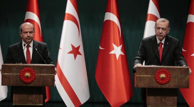 Cumhurbaşkanı Erdoğan: Kıbrısta kalıcı ve sürdürülebilir bir çözümden yanayız