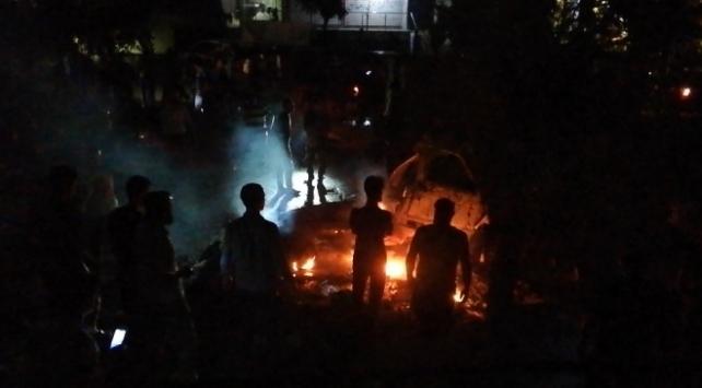 Afrinde teröristlerden bombalı saldırı: 2 ölü, 10 yaralı