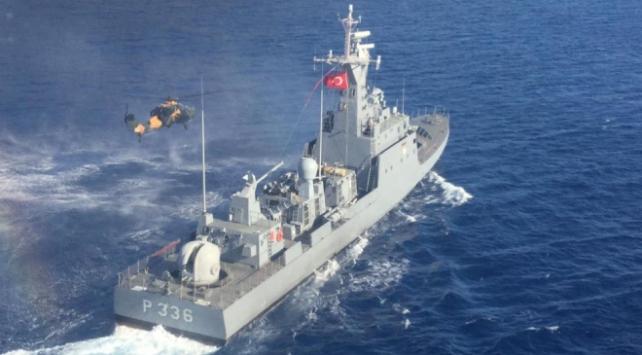 Doğu Akdenizde havadan ve denizden eğitim icra edildi
