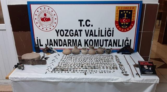 Yozgatta 561 parça tarihi eser ele geçirildi
