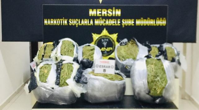 Mersinde 132 kilogram uyuşturucu ele geçirildi