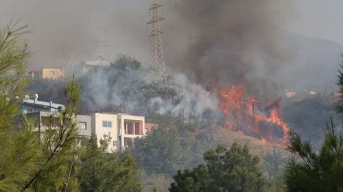 Amanoslar ve Toroslar'da 5 ayrı noktada yangın