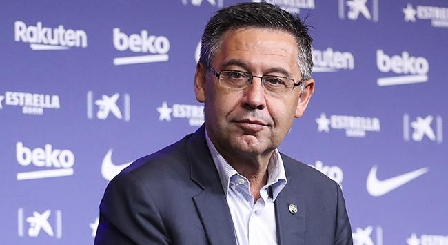 Barcelona Başkan Bartomeu istifa kararı aldı