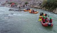Türkiye Rafting Şampiyonası'nda kıyasıya mücadele