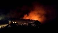 Çöp toplama alanında çıkan yangın kontrol altına alındı