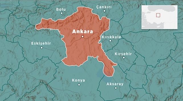 Ankarada 3,8 büyüklüğünde deprem