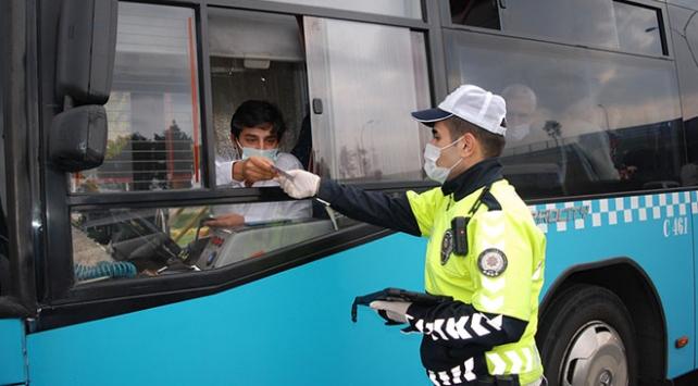 İstanbulda toplu taşıma araçları gün boyu denetlenecek