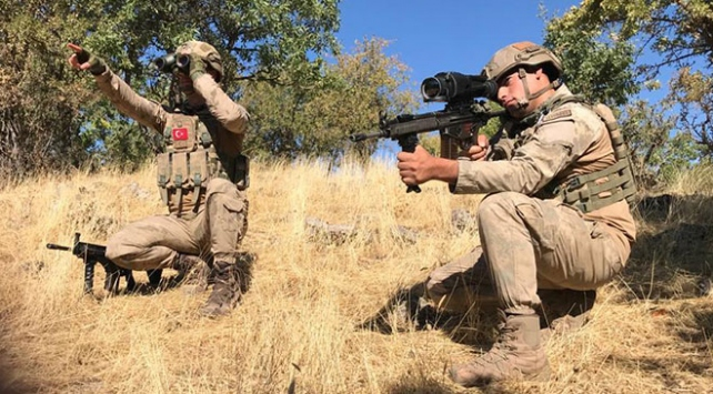 Batman ve Diyarbakır kırsalında Yıldırım -14 Zori Operasyonu