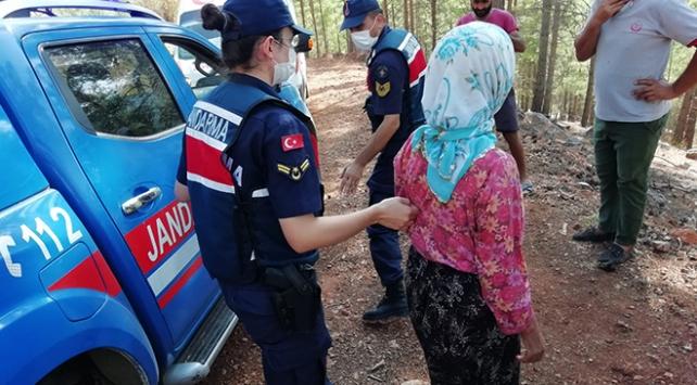 Mersinde 10 gün önce kaybolan kadın ormanlık alanda bulundu