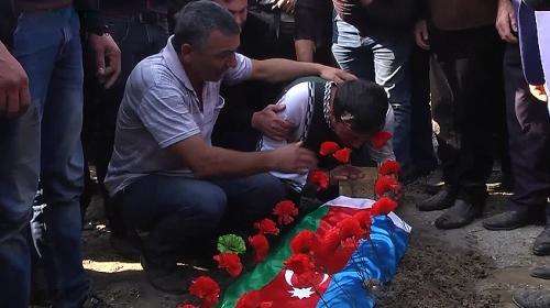 Ermeni saldırısında yaşamını yitiren siviller toprağa verildi