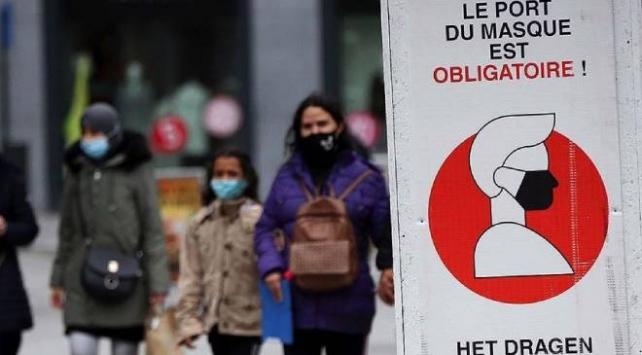 Avrupada COVID-19 salgınında en fazla bulaşma Belçikada