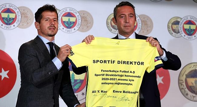 Fenerbahçenin yeni sportif direktörü Emre Belözoğlu oldu