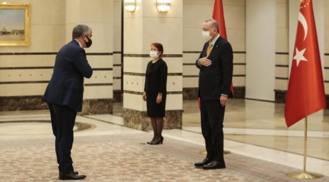 Danimarka Büyükelçisi Annandan Cumhurbaşkanı Erdoğana güven mektubu