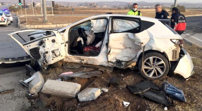 Çorumda trafik kazası: 2 ölü