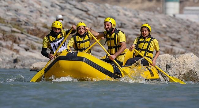 Şırnak Kato Rafting Takımının hedefi dünya şampiyonası