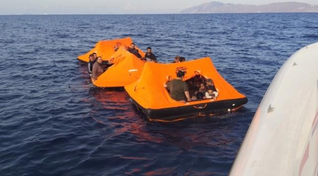 Muğla açıklarında 106 sığınmacı kurtarıldı