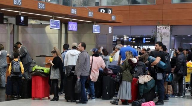 Sabiha Gökçen Havalimanında 29 Ekim yoğunluğu