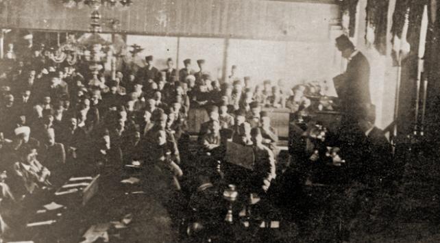 Cumhuriyetin ilanı ve Atatürkün ilk konuşması TBMM kayıtlarında
