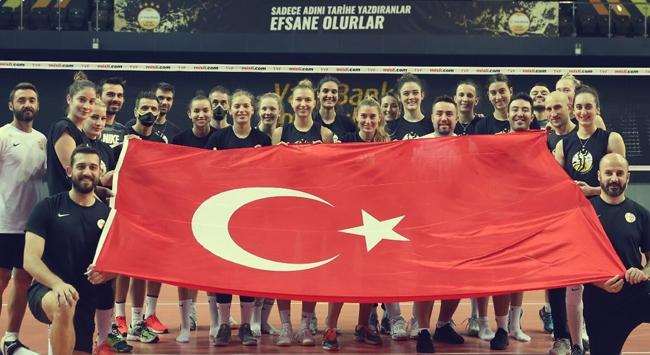 VakıfBank Voleybol Takımında hedef 3. rekor