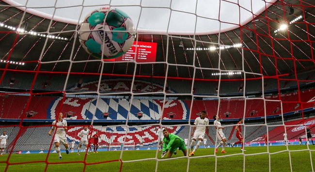 Almanyada maçlar yeniden seyircisiz