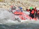Hakkari'deki rafting heyecana sona erdi