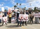 Libya'da Macron yönetiminin İslam karşıtı tutumu protesto edildi